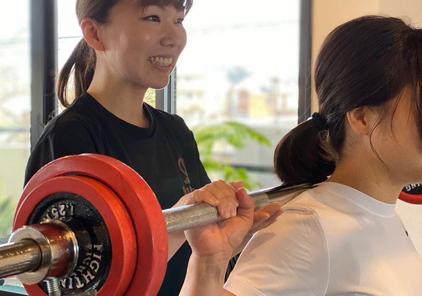 産後ダイエットトレーニング写真